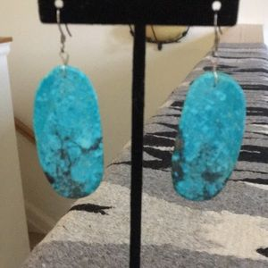 Jewelry - Oval shaped turquoise slabs